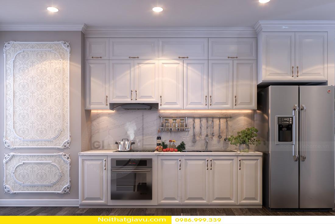 thiết kế nội thất chung cư Gardenia tòa a2 căn 06 06
