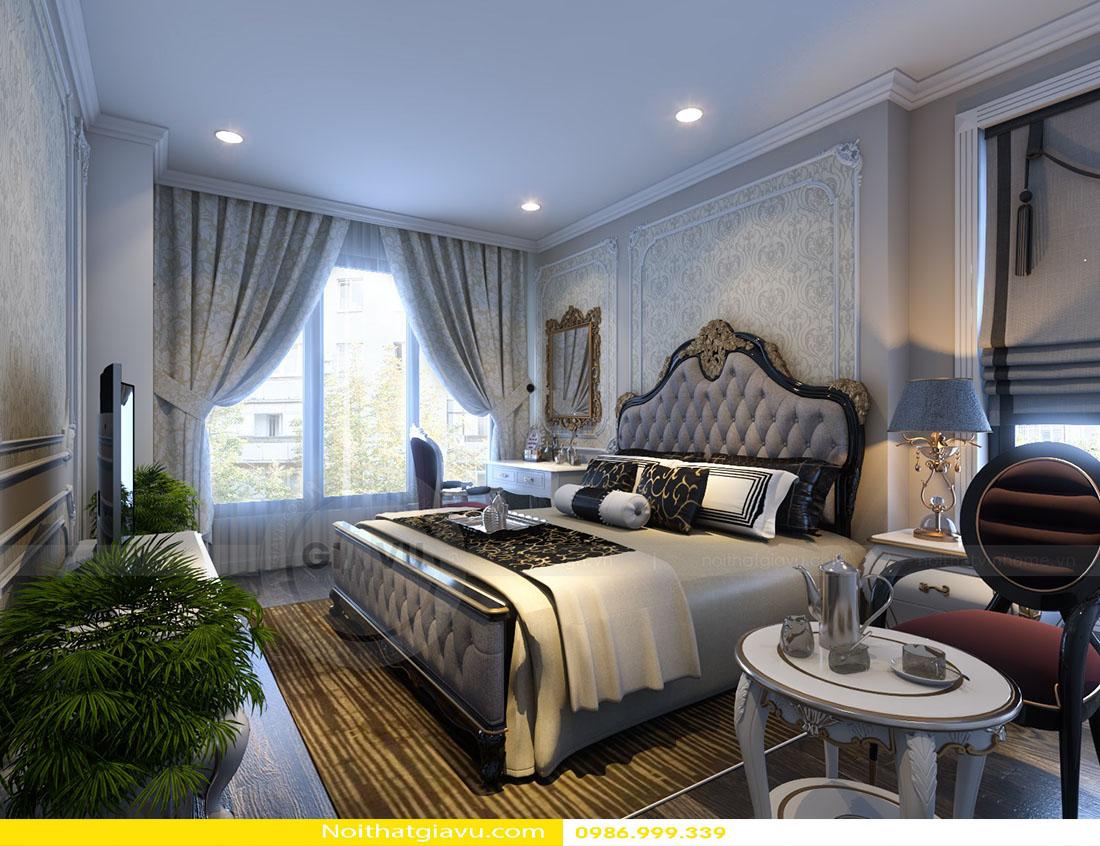 thiết kế nội thất chung cư Gardenia tòa a2 căn 06 07
