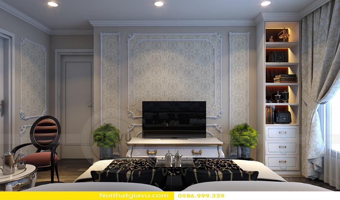 thiết kế nội thất chung cư Gardenia tòa a2 căn 06 08