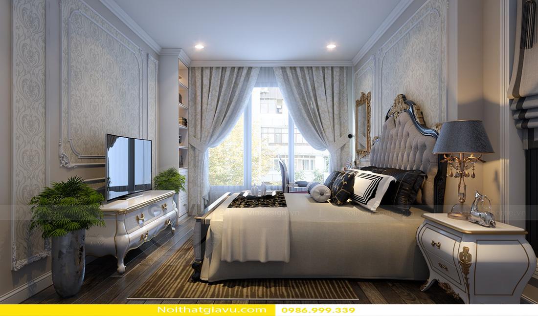 thiết kế nội thất chung cư Gardenia tòa a2 căn 06 09