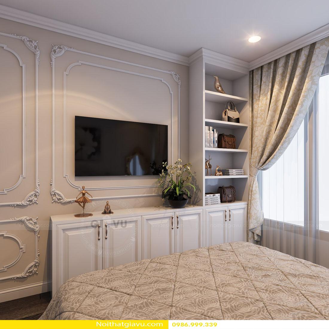 thiết kế nội thất chung cư Gardenia tòa a2 căn 06 12