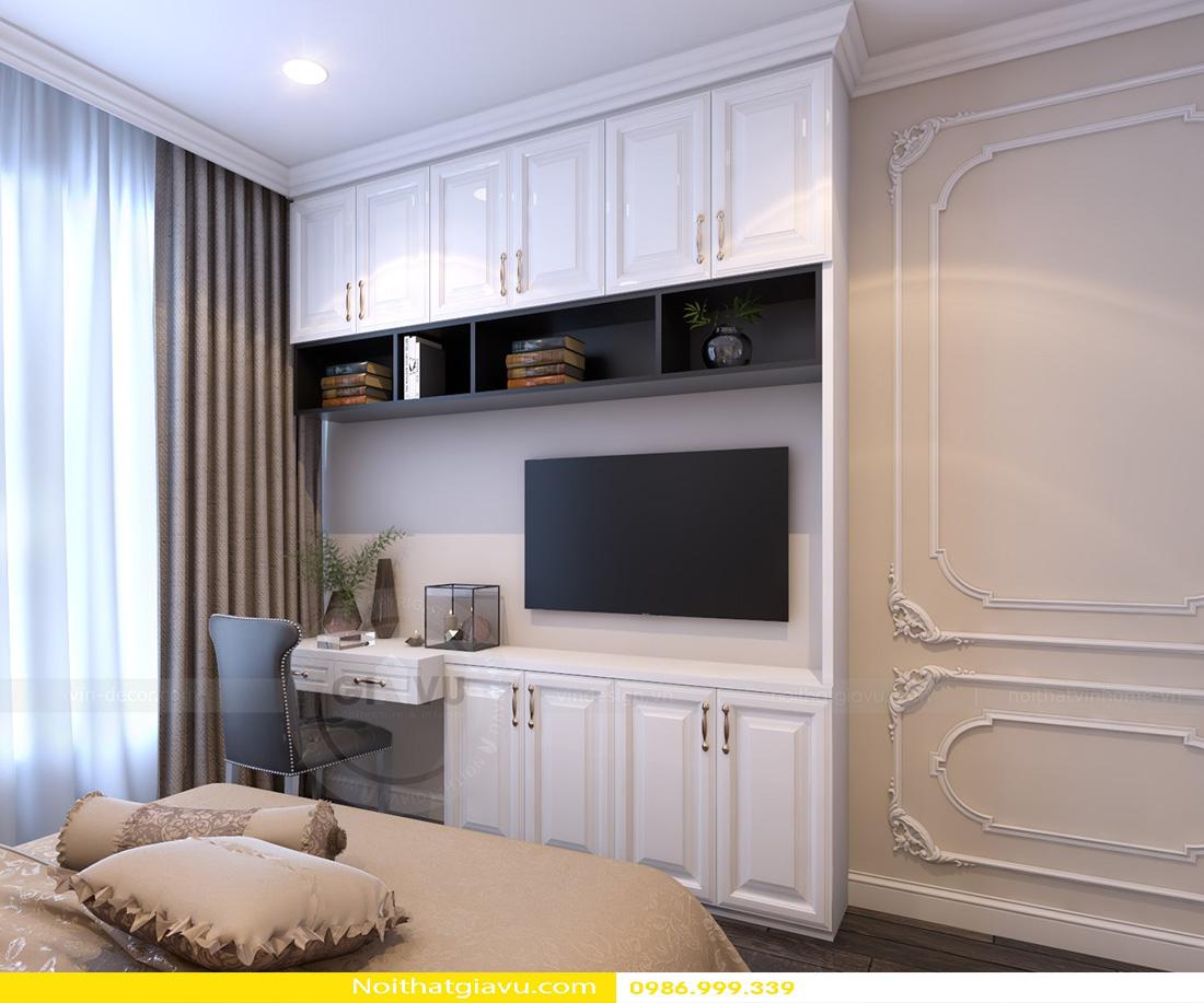 thiết kế nội thất chung cư Gardenia tòa a2 căn 06 14