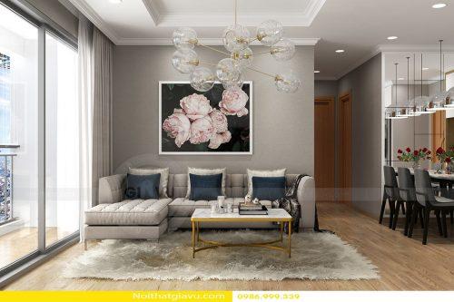 Thiết kế nội thất chung cư Gardenia tòa A3 căn hộ số 12
