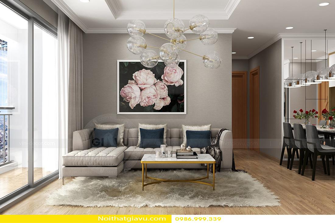 thiết kế nội thất chung cư gardenia tòa a3 căn hộ 12 01