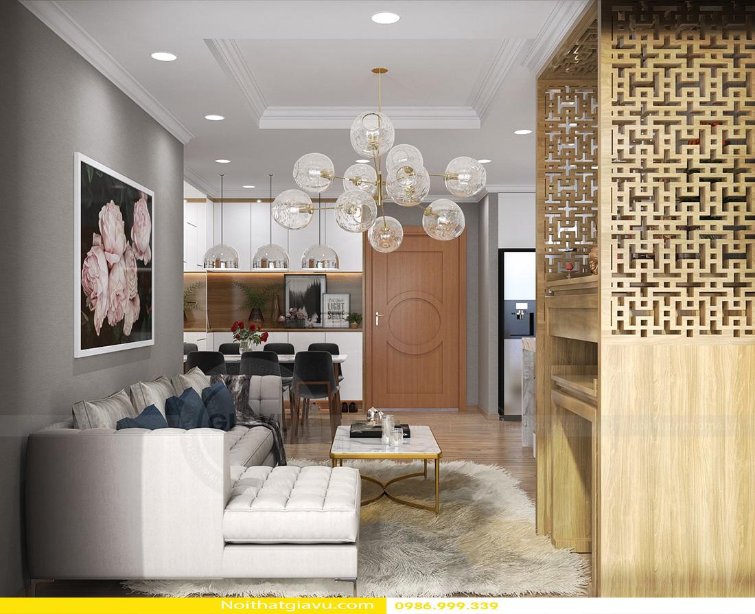 thiết kế nội thất chung cư gardenia tòa a3 căn hộ 12 03