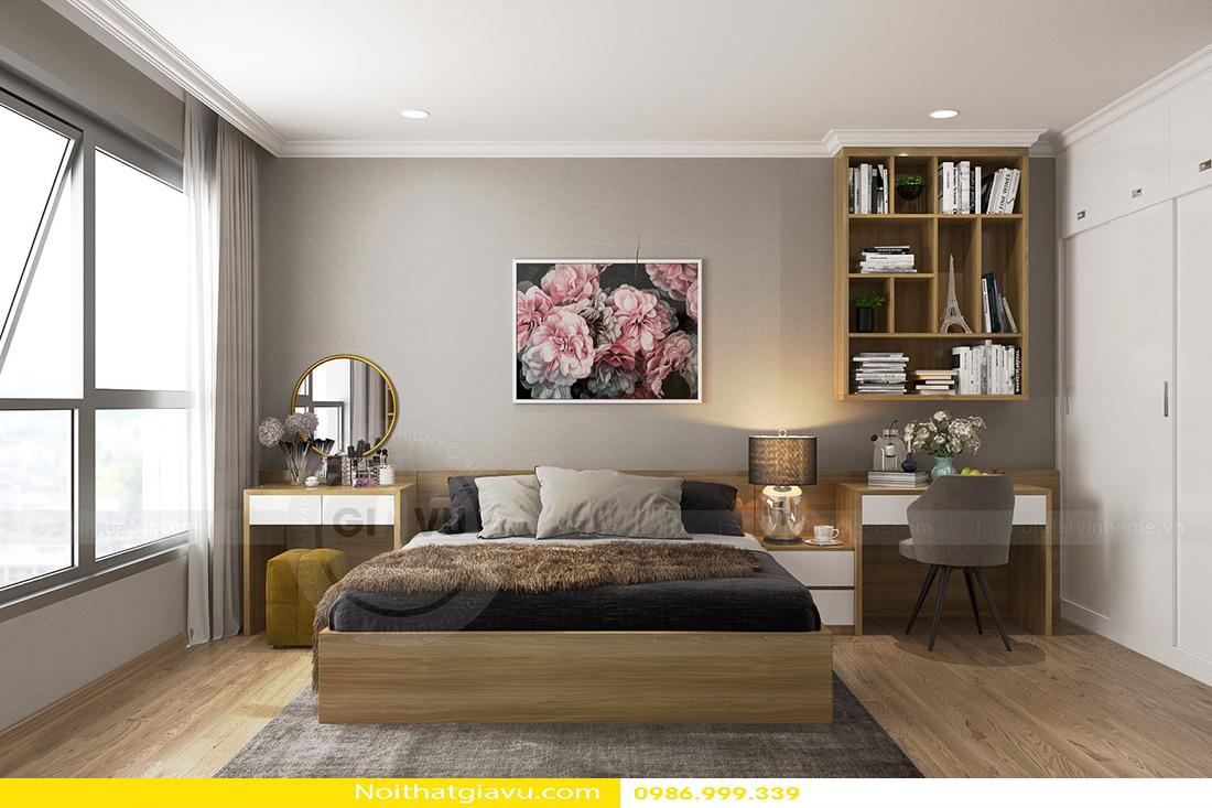 thiết kế nội thất chung cư gardenia tòa a3 căn hộ 12 06