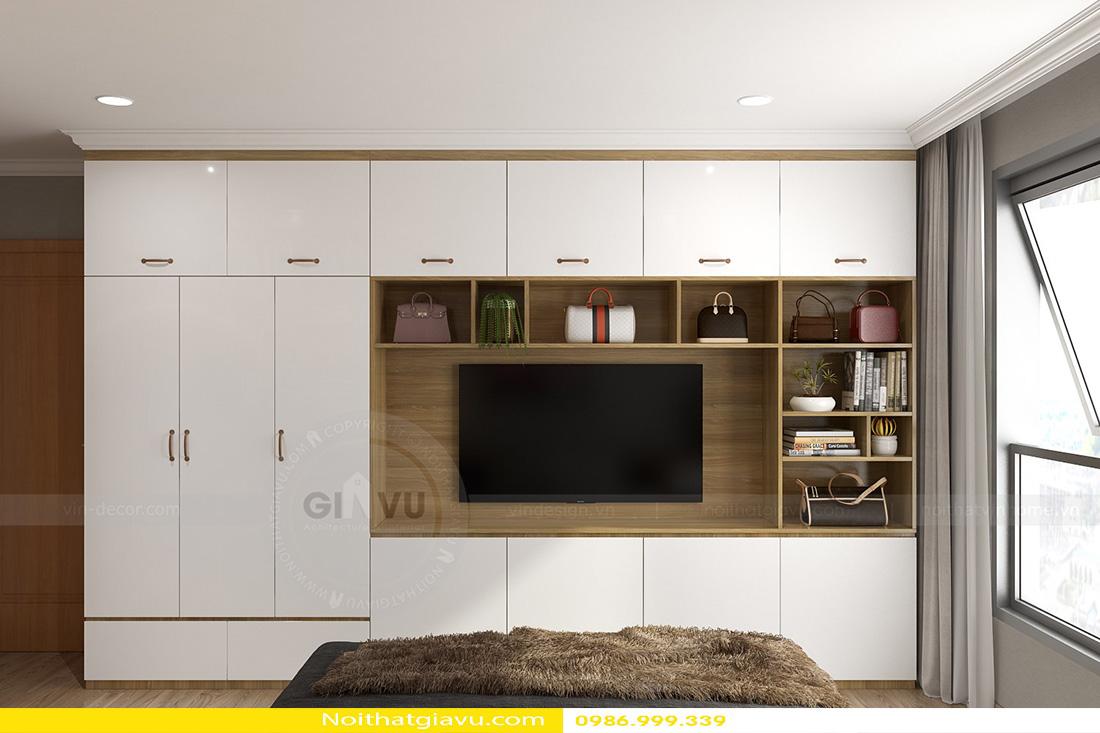thiết kế nội thất chung cư gardenia tòa a3 căn hộ 12 07