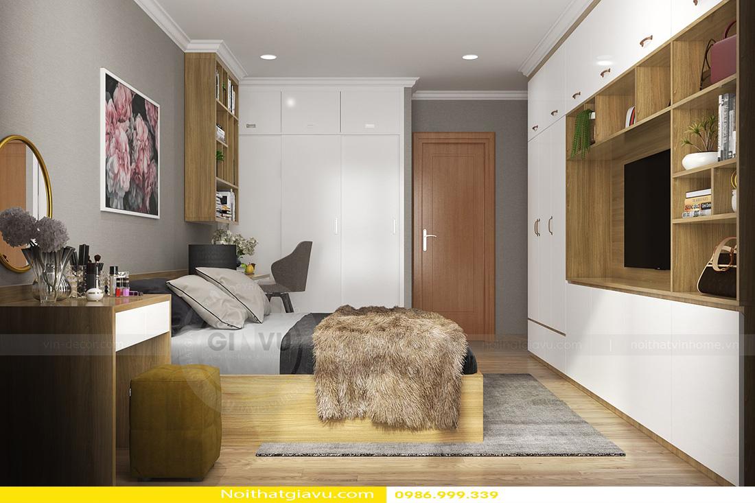 thiết kế nội thất chung cư gardenia tòa a3 căn hộ 12 08