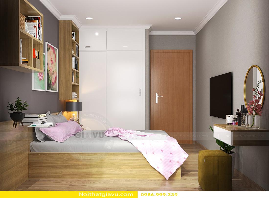thiết kế nội thất chung cư gardenia tòa a3 căn hộ 12 10