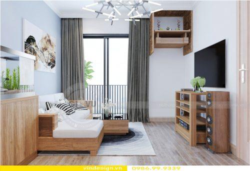 Thiết kế nội thất chung cư với phòng khách hợp mệnh Mộc