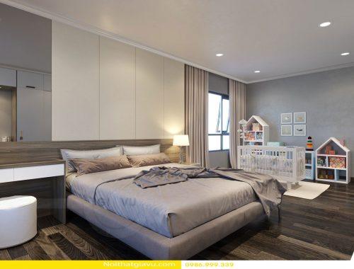 Thiết kế nội thất chung cư với những mẫu phòng ngủ độc đáo