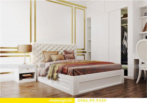 Thiết kế nội thất chung cư tại phòng ngủ hợp mệnh thủy