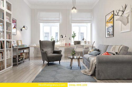 Xu hướng thiết kế nội thất chung cư theo phong cách Scandinavian