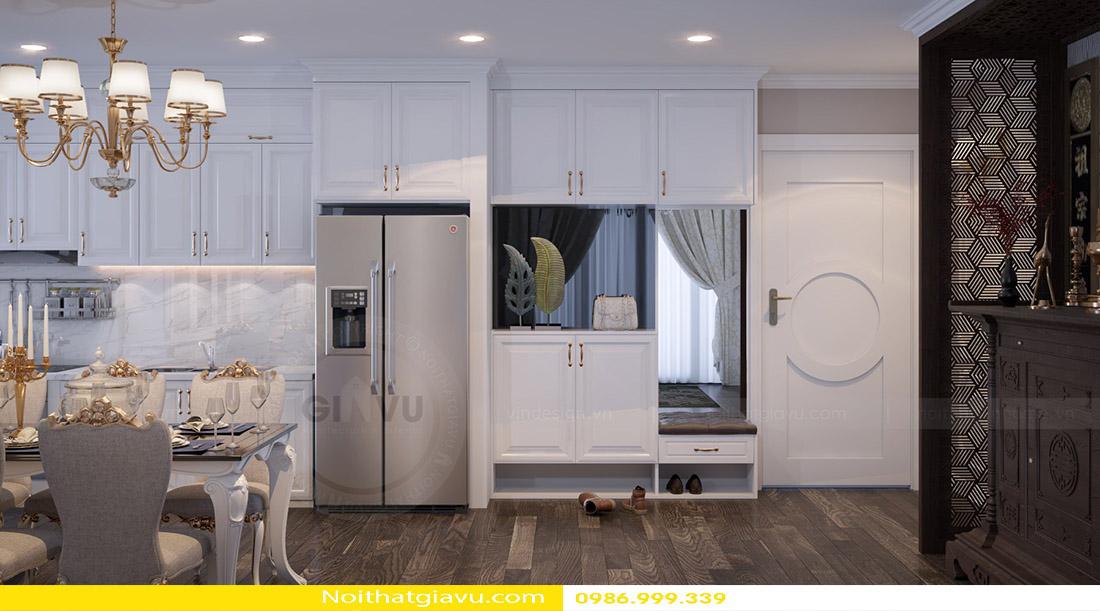 thiết kế nội thất chung cư tân cổ điển và đặc điểm 03