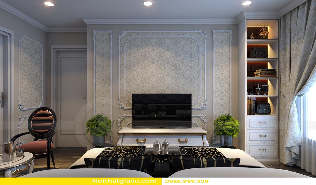 thiết kế nội thất chung cư tân cổ điển và đặc điểm 05