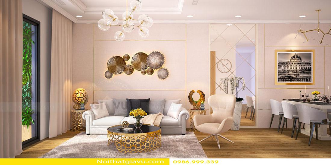 thiết kế nội thất chung cư và nguyên tắc vàng 01