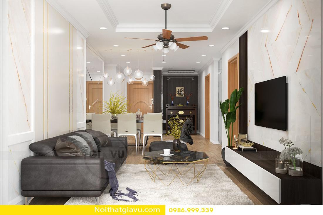 thiết kế nội thất chung cư và nguyên tắc vàng 08