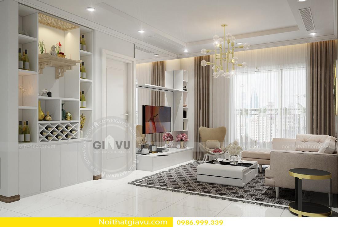 thiết kế nội thất chung cư và phong cách hiện đại 02