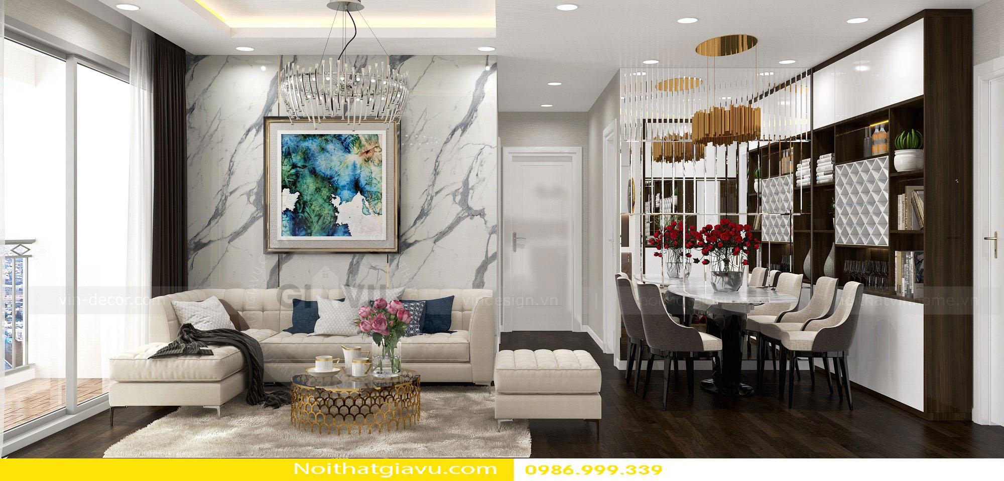 thiết kế nội thất chung cư và phong cách thiết kế 01