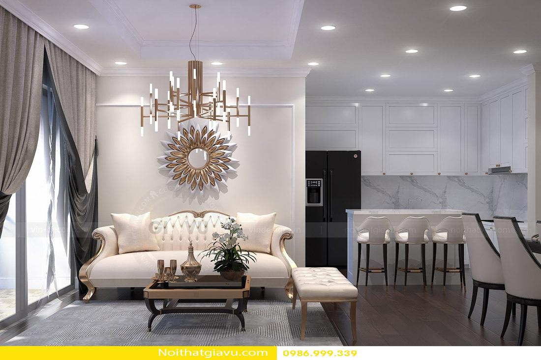 thiết kế nội thất chung cư và phong cách thiết kế 02
