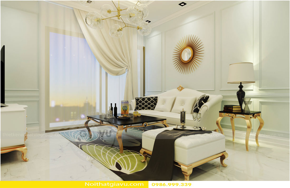 thiết kế nội thất chung cư và phong cách thiết kế 06