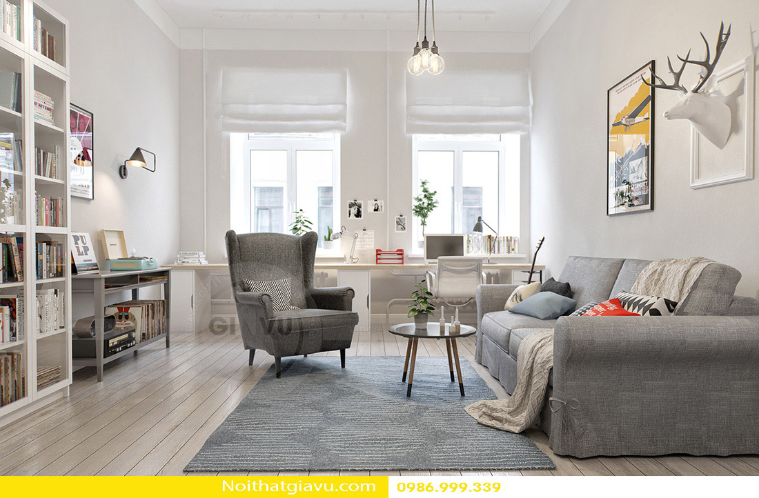 thiết kế nội thất chung cư và phong cách thiết kế 09
