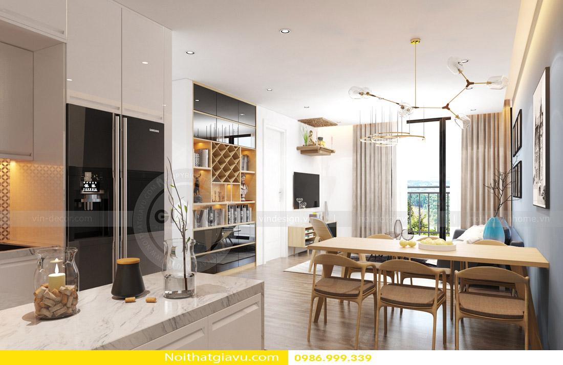 tư vấn thiết kế nội thất chung cư căn hộ 1 phòng ngủ 02