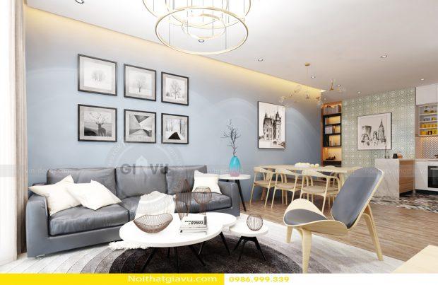 Tư vấn thiết kế nội thất chung cư với căn hộ 1 phòng ngủ