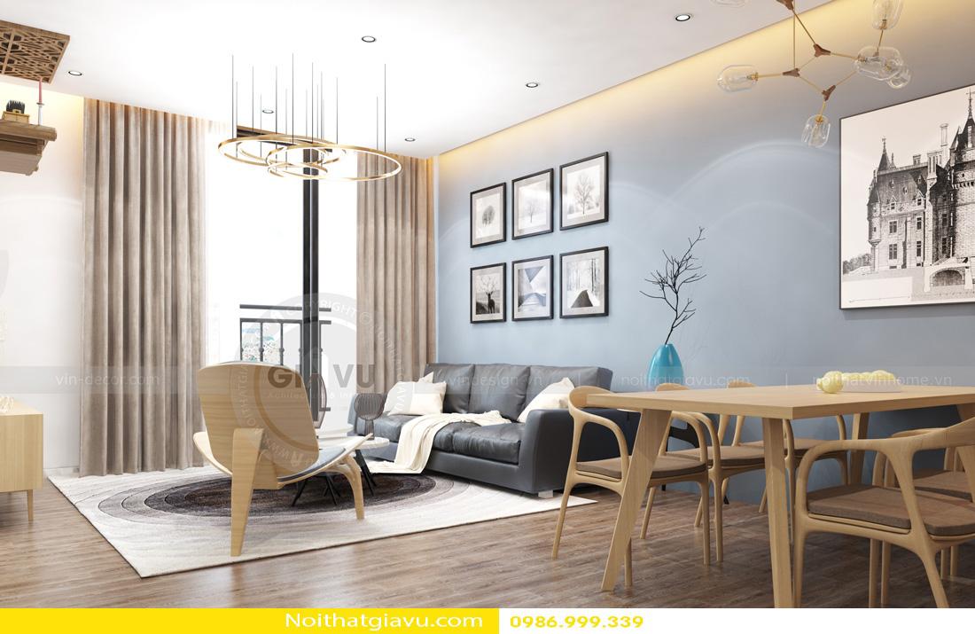 tư vấn thiết kế nội thất chung cư căn hộ 1 phòng ngủ 04
