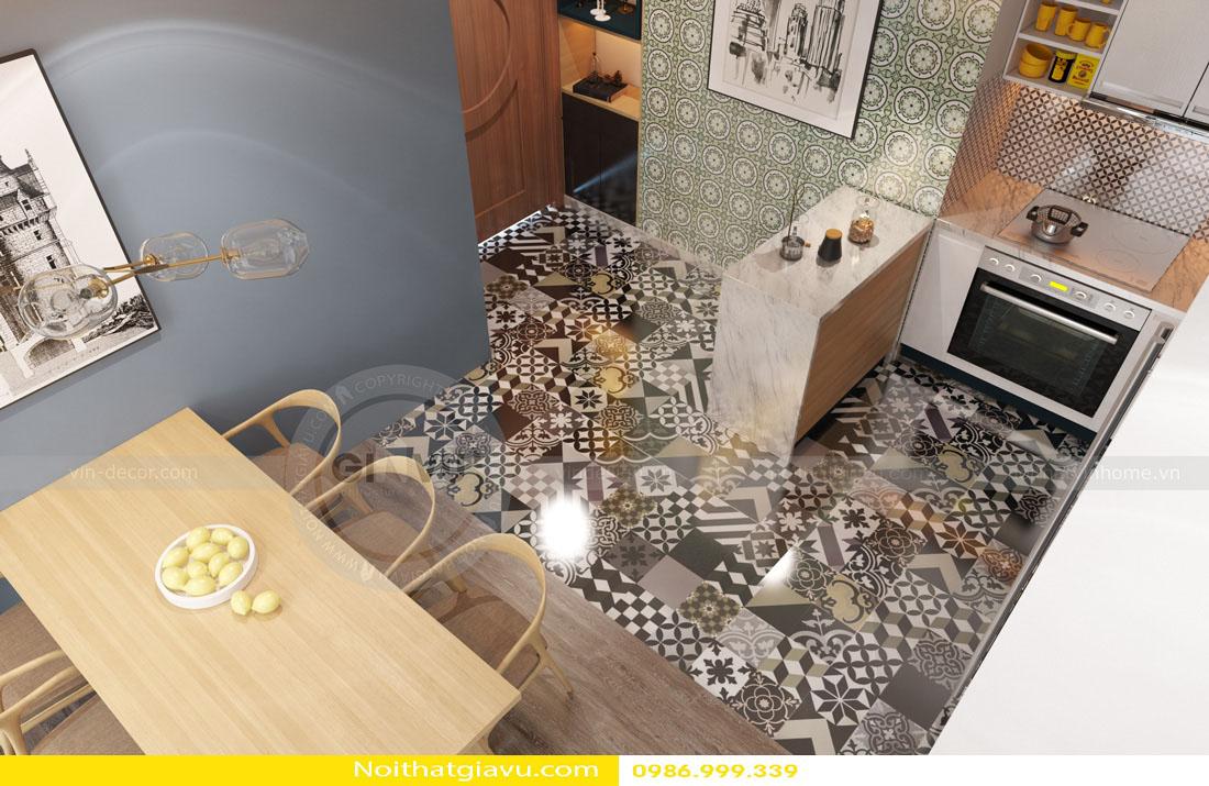 tư vấn thiết kế nội thất chung cư căn hộ 1 phòng ngủ 05