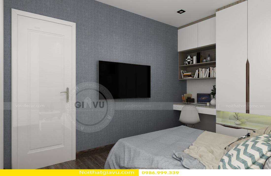 tư vấn thiết kế nội thất chung cư căn hộ 1 phòng ngủ 08