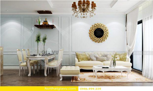 Đặc điểm phong cách Tân cổ điển trong thiết kế nội thất chung cư