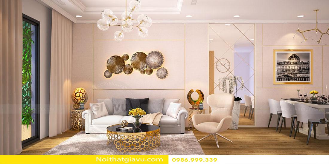 phong cách thiết kế nội thất căn hộ hiện đại 01