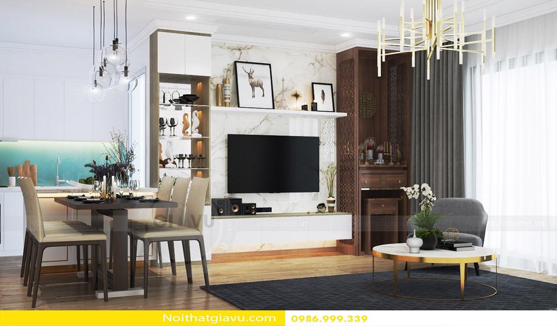 phong cách thiết kế nội thất căn hộ hiện đại 06