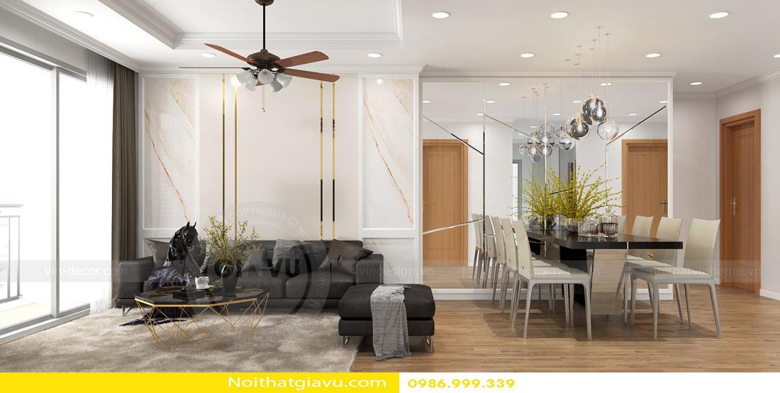 phong cách thiết kế nội thất căn hộ hiện đại 07