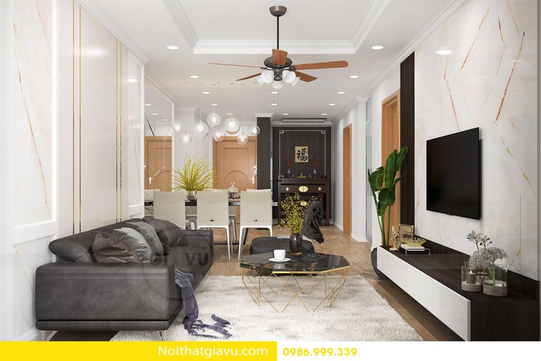 phong cách thiết kế nội thất căn hộ hiện đại 08