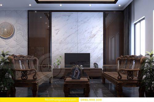 Thiết kế nội thất Biệt thự The Harmony phong cách Á Đông