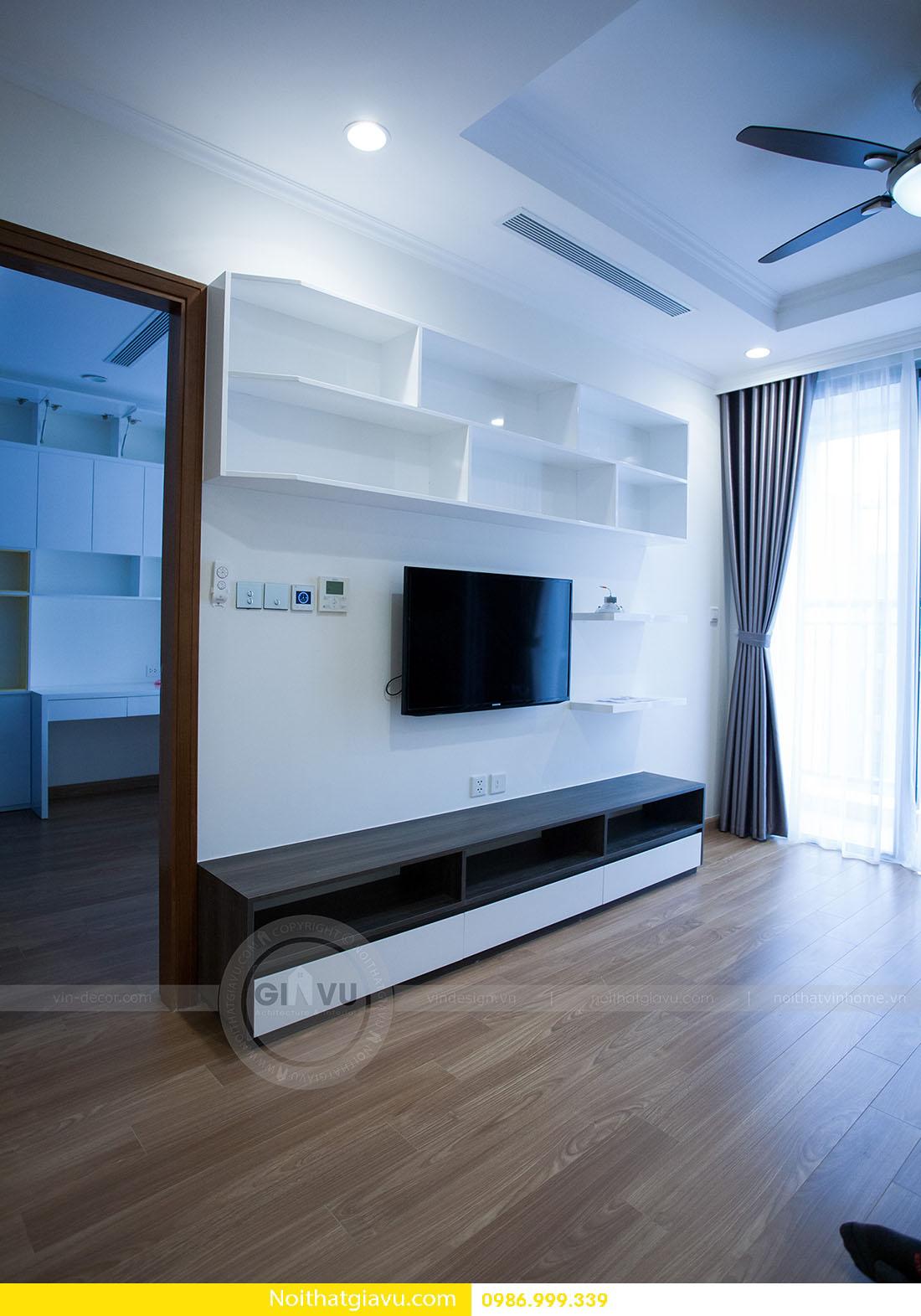 thiết kế nội thất căn hộ Vinhomes Green Bay 2 ngủ 03
