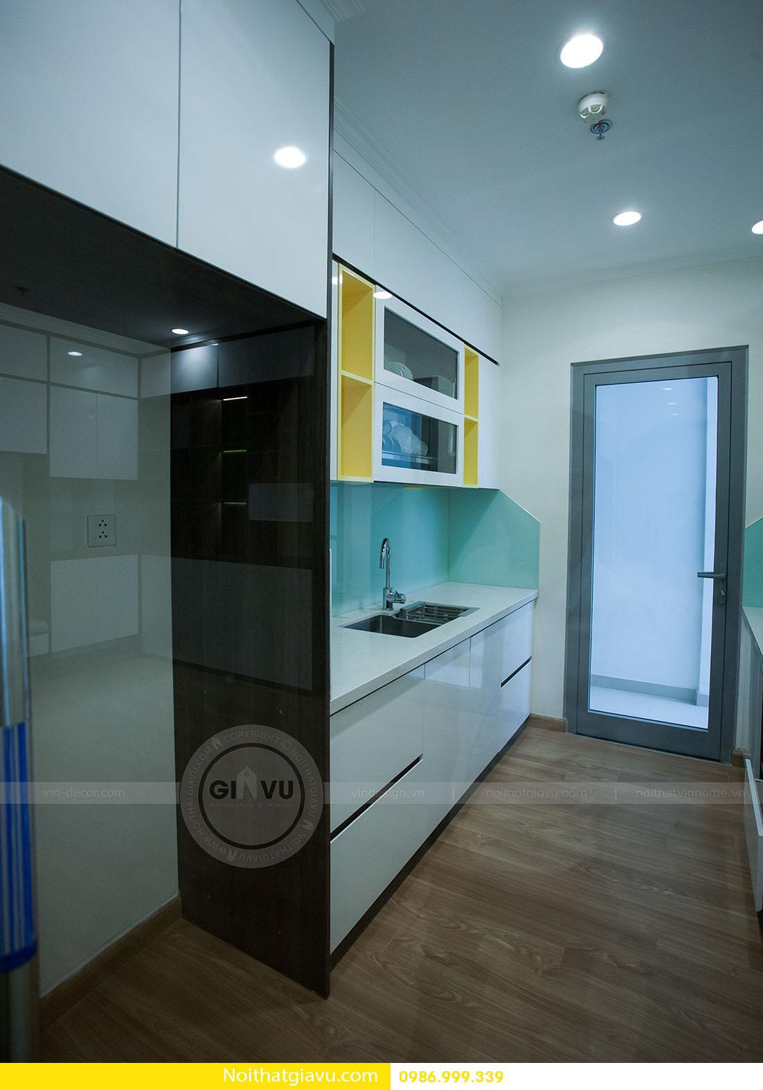 thiết kế nội thất căn hộ Vinhomes Green Bay 2 ngủ 04