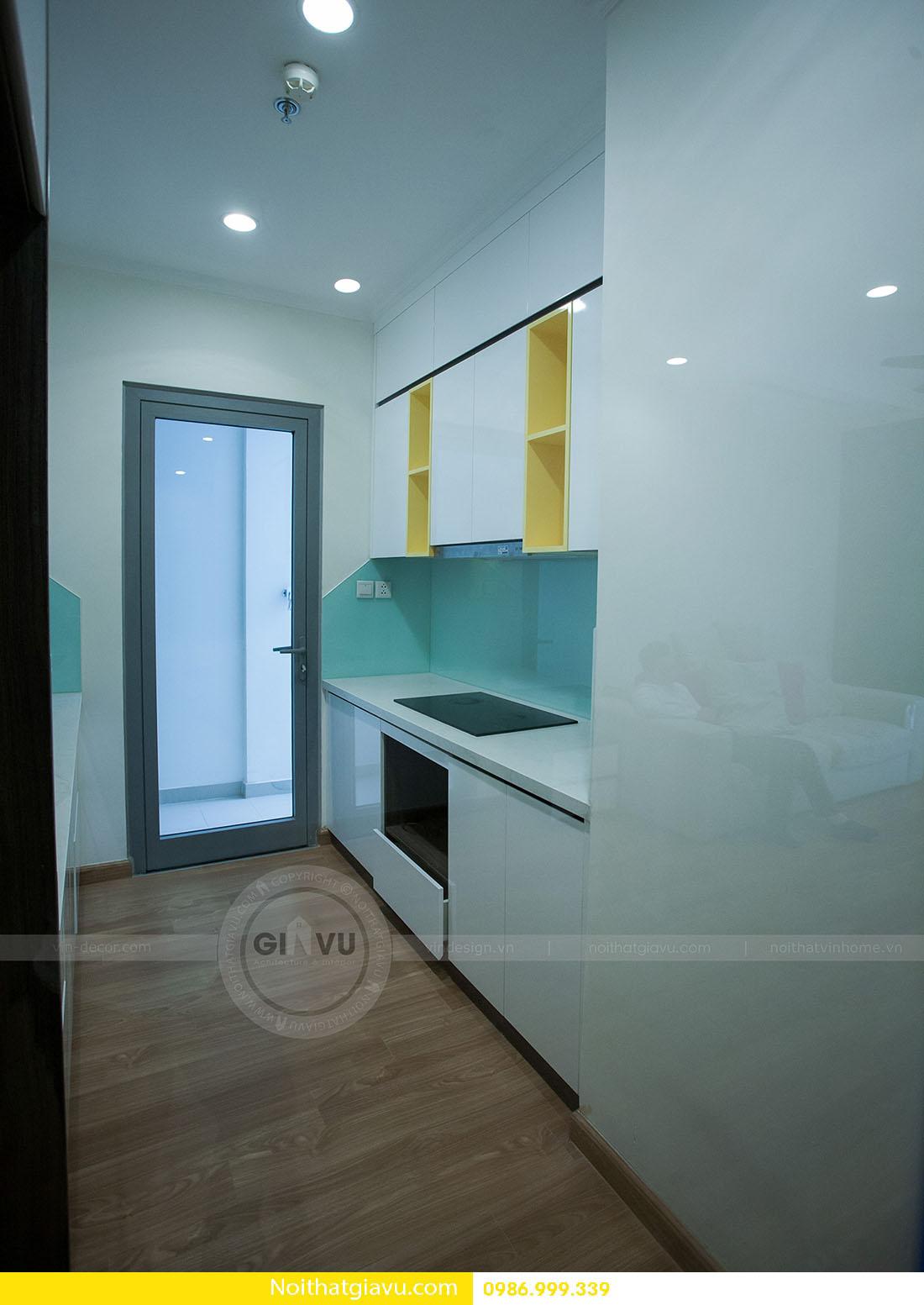 thiết kế nội thất căn hộ Vinhomes Green Bay 2 ngủ 05