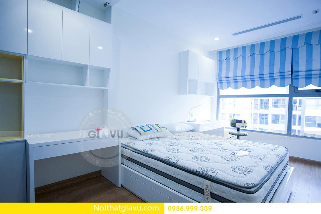 thiết kế nội thất căn hộ Vinhomes Green Bay 2 ngủ 06