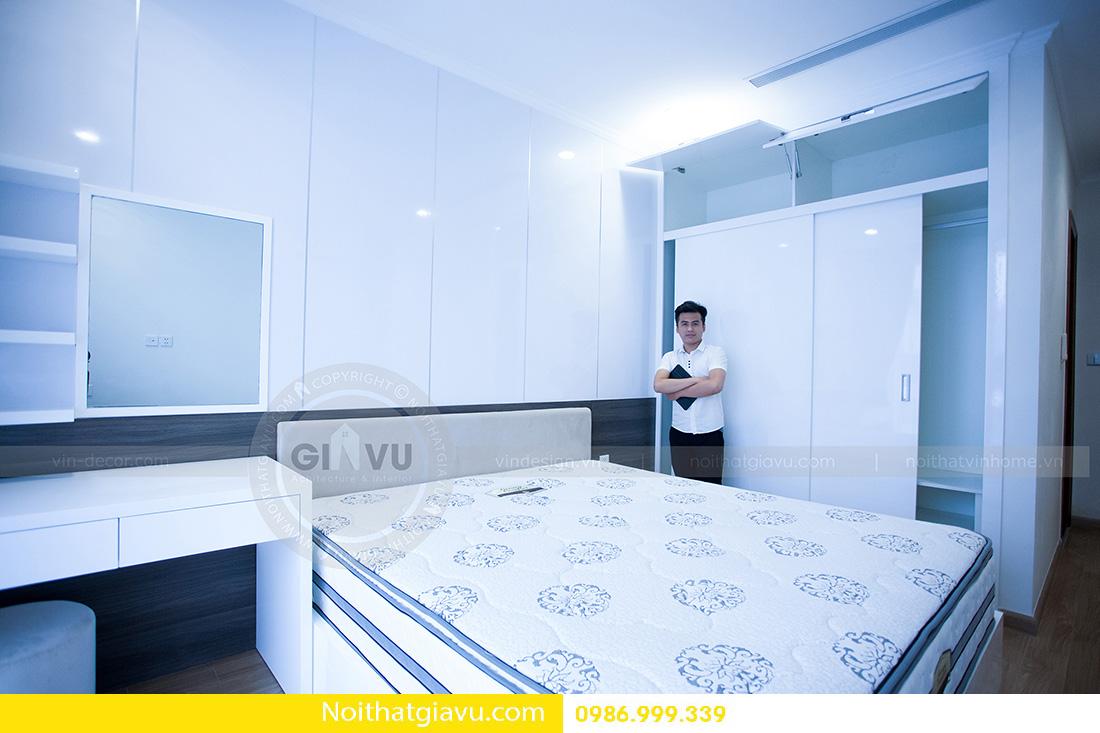 thiết kế nội thất căn hộ Vinhomes Green Bay 2 ngủ 09