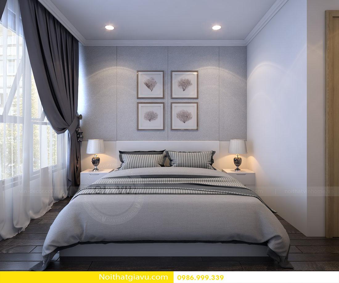 thiết kế nội thất chung cư Vinhomes Green Bay 06
