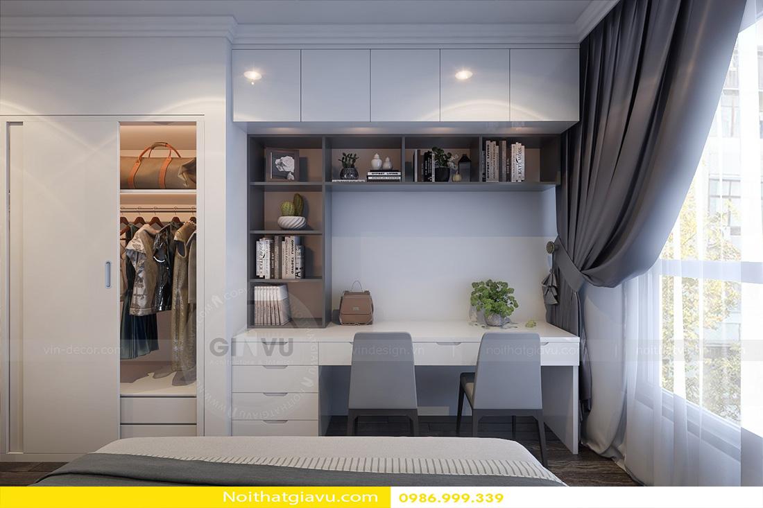 thiết kế nội thất chung cư Vinhomes Green Bay 07