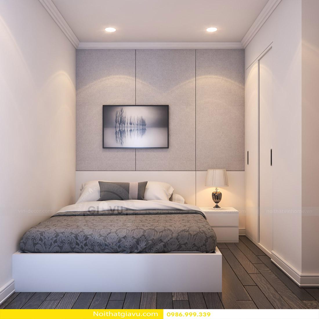 thiết kế nội thất chung cư Vinhomes Green Bay 08