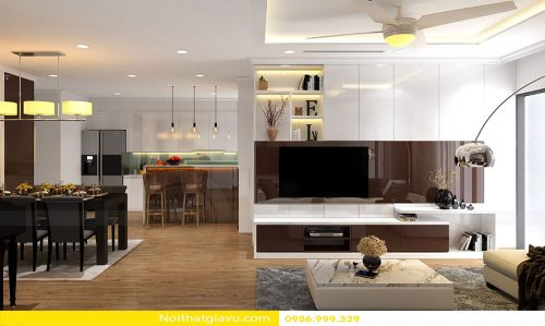 Thiết kế nội thất Vinhomes Metropolis đẹp hiện đại – Hotline 0986999339