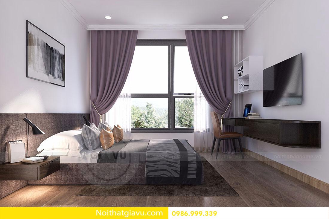 Chung cư D'Capitale - Mẫu thiết kế nội thất chung cư hiện đại 12
