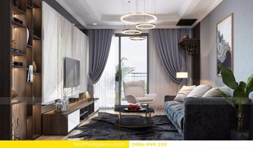 Chung cư DCapitale – Mẫu thiết kế nội thất chung cư hiện đại