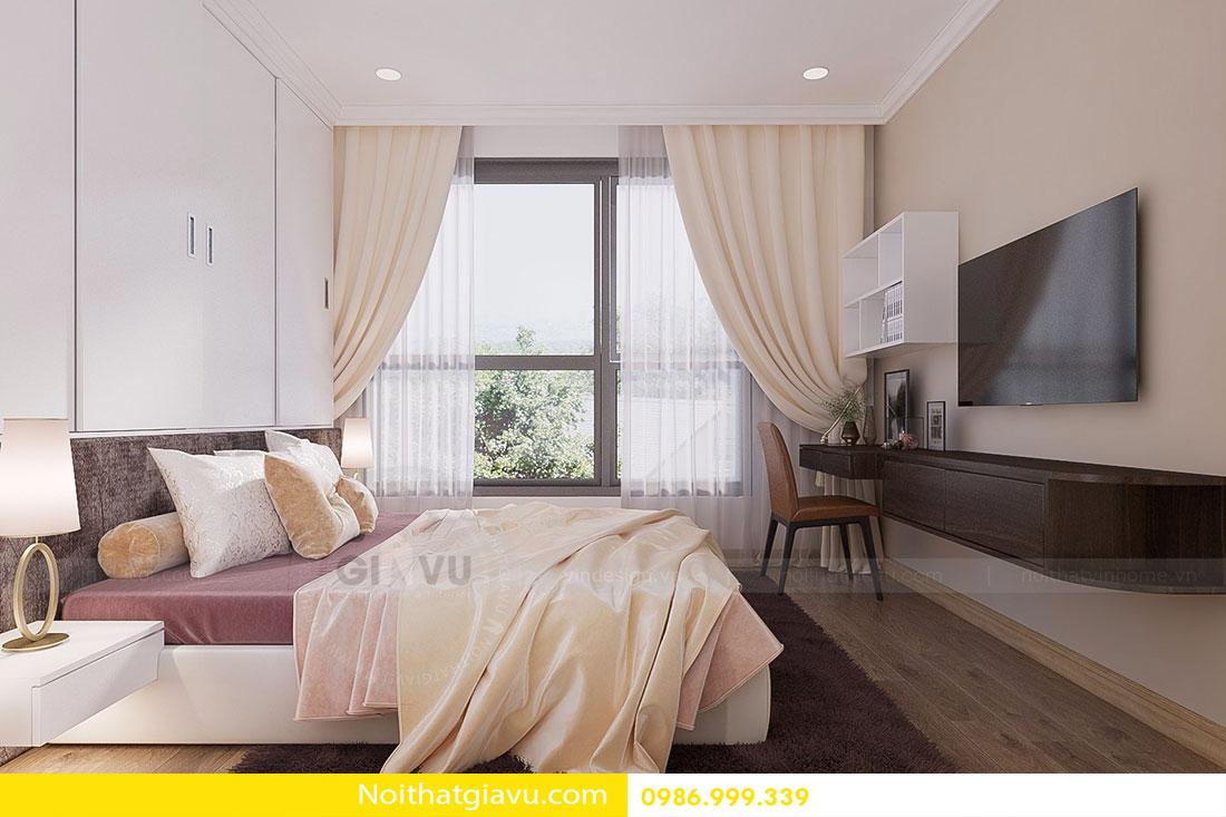 Chung cư D'Capitale - Mẫu thiết kế nội thất chung cư hiện đại 9