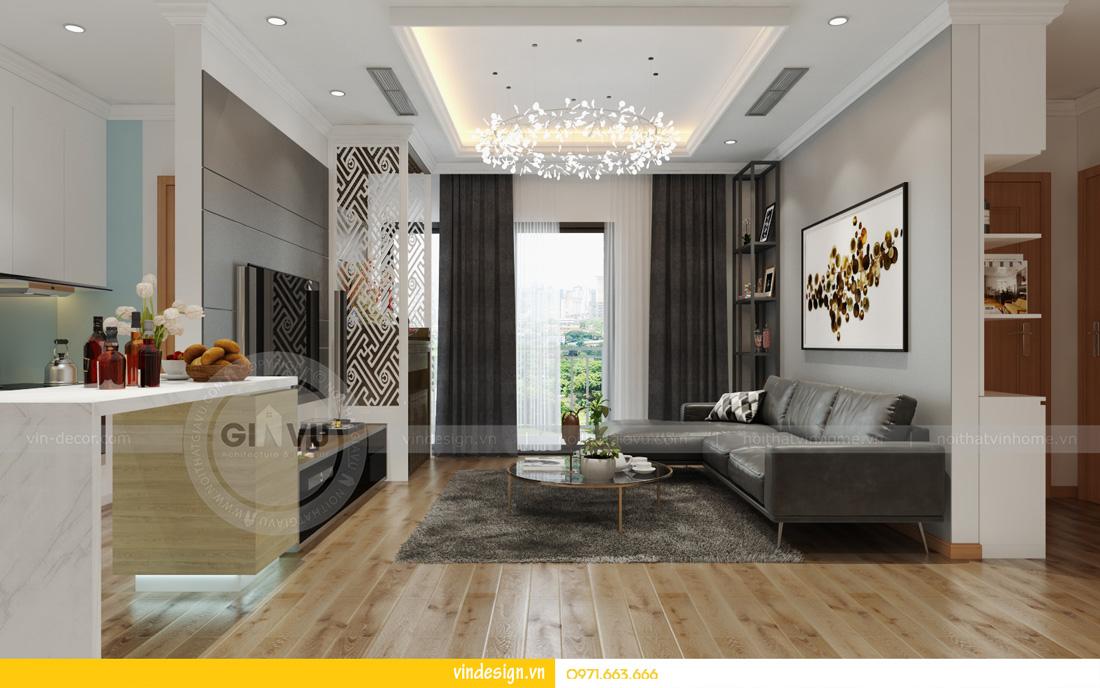 gợi ý thiết kế nội thất chung cư D Capitale đẹp đẳng cấp hiện đại 02
